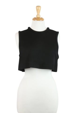 Mix masters top in black