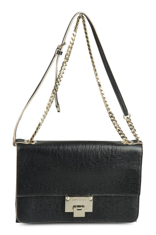 Rebel  (27cm) black shoulder bag