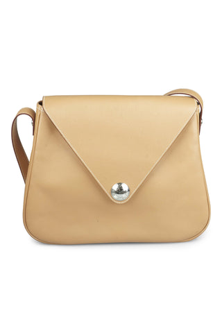 Christine beige epsom leather shoulder bag