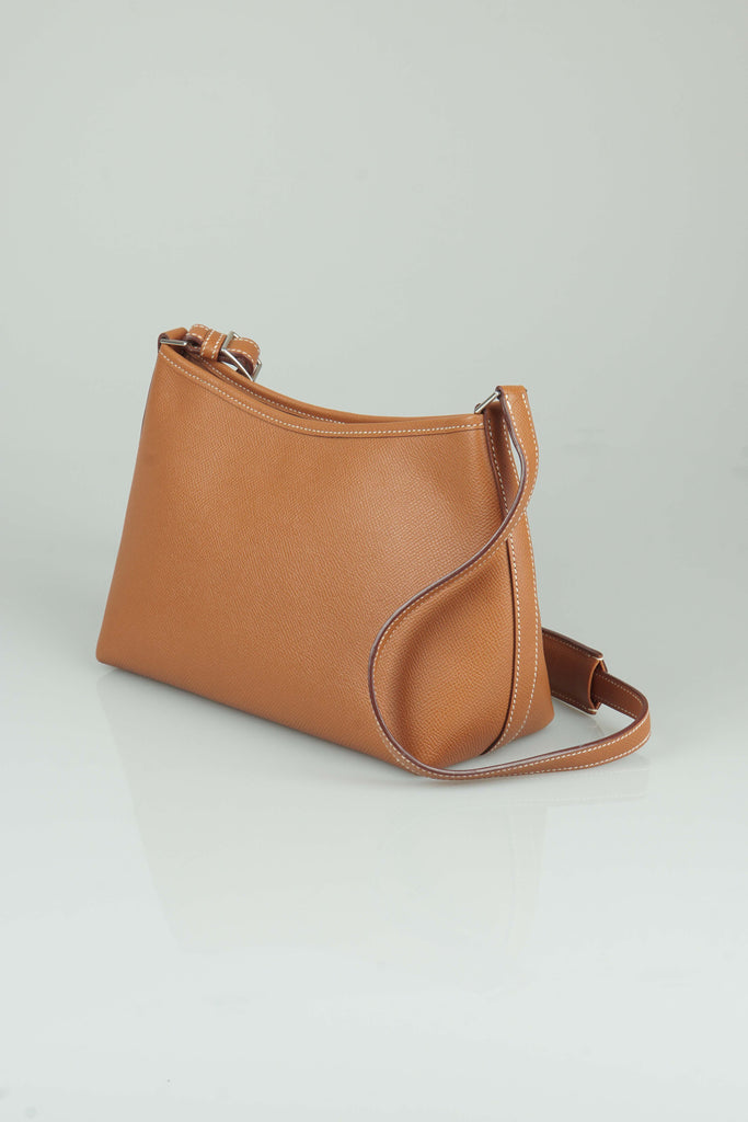 Hermes Berlingot PM (23cm) caramel Epsom leather shoulder bag