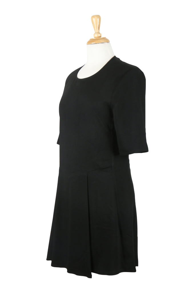 Scanlan & Theodore Little Black Dress with Short Sleeves