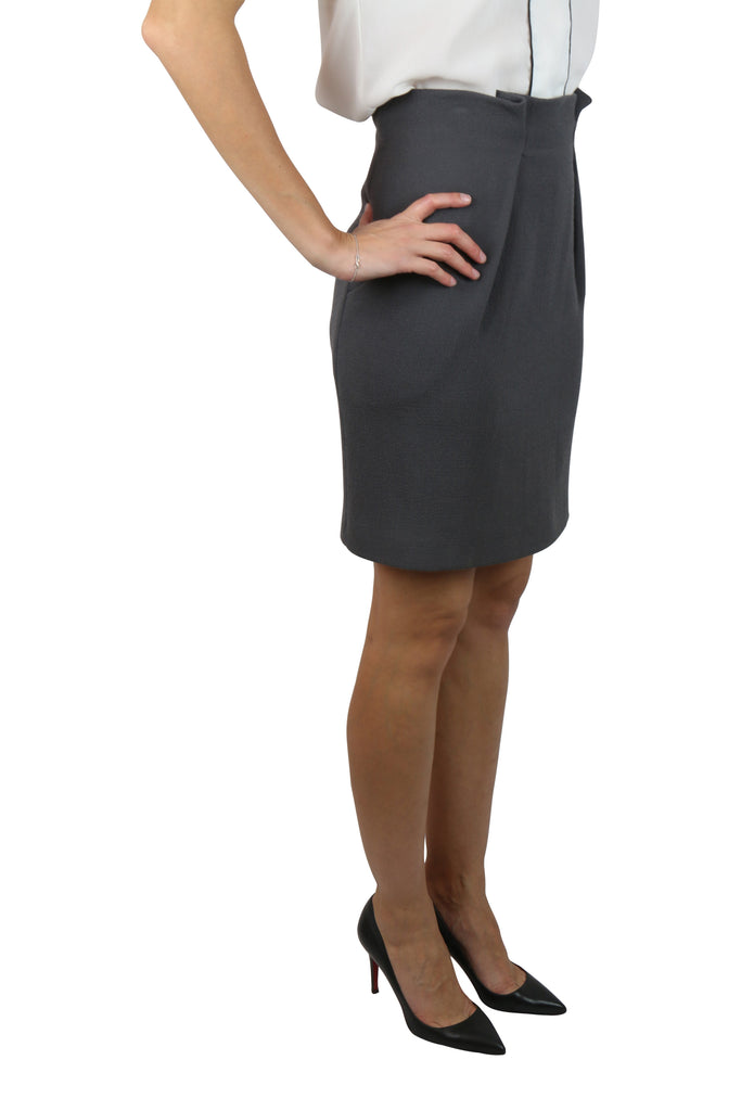 Willow Charcoal grey skirt