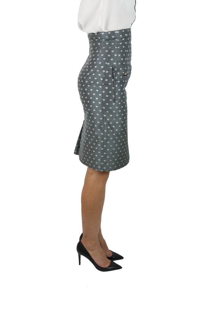 Paul & Joe Grey pencil skirt