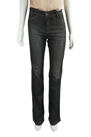 Side panel stretch jeans