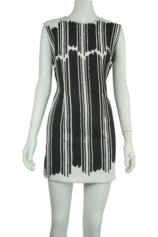 Mod cut-away back dress