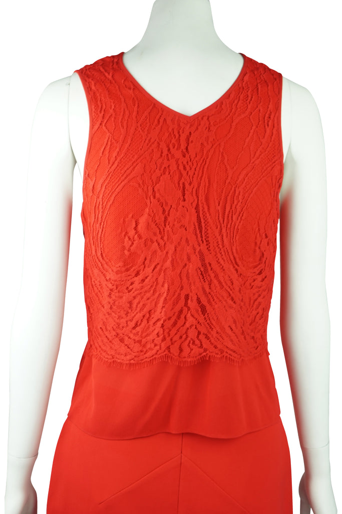 Ginger & Smart Red lace top