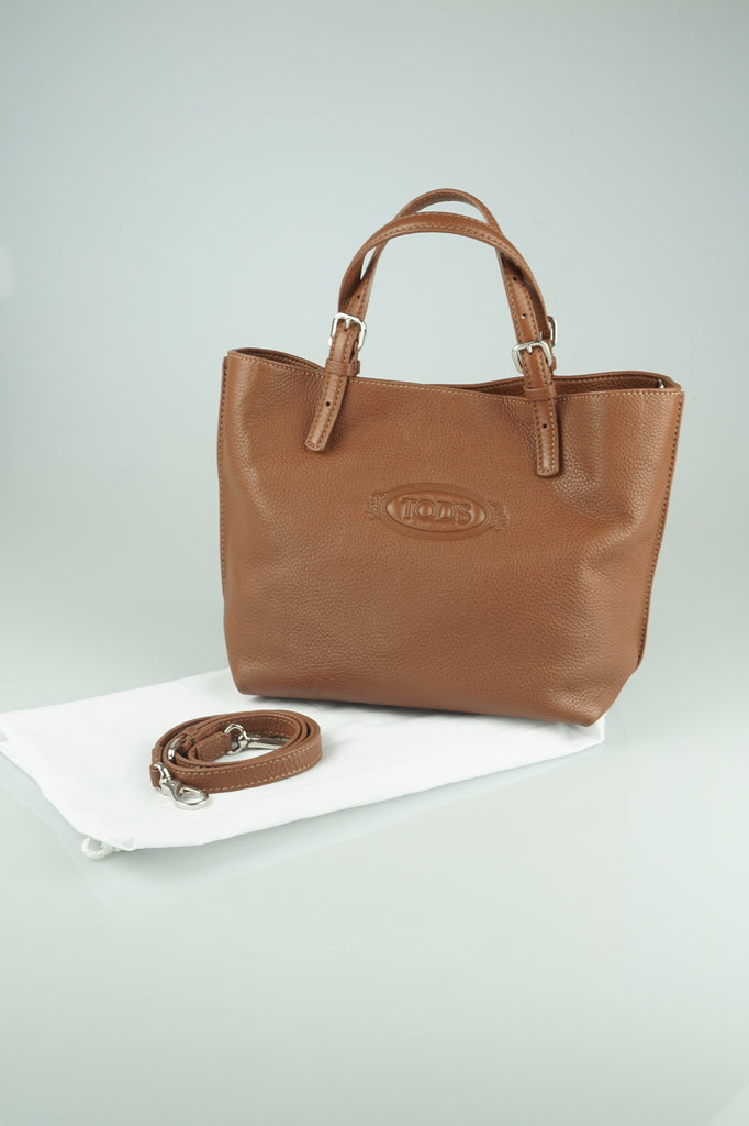 Tod's Mini brown tote