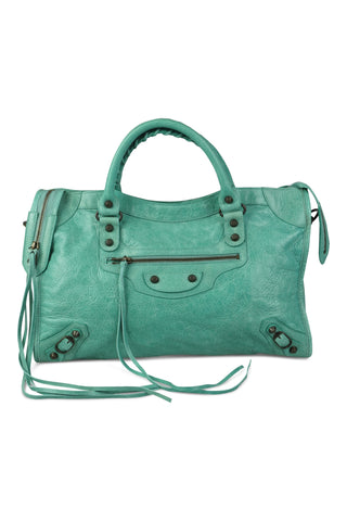 City bag in green