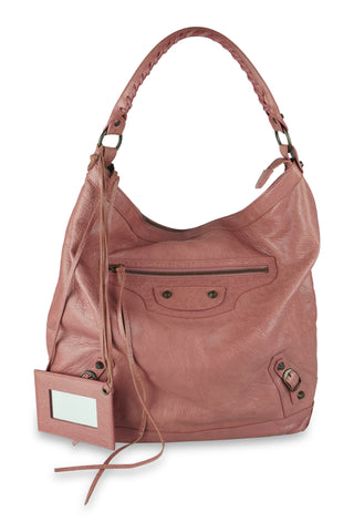 Classic day tote bag in pink