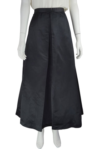 Full silk evening skirt