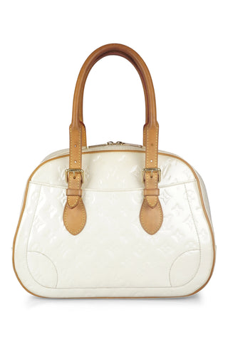 Trouville cream vernis handbag