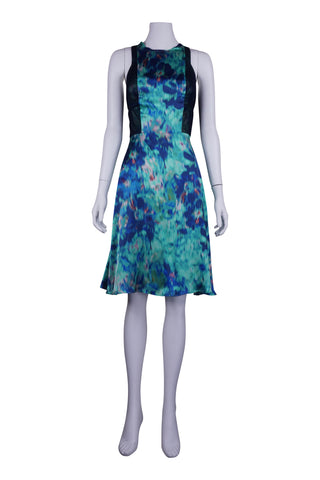 View finder silk dress
