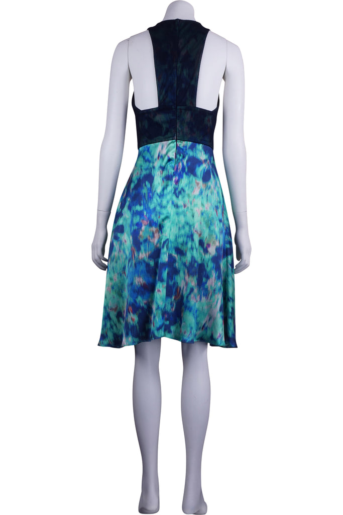 Life with Bird View finder silk dress
