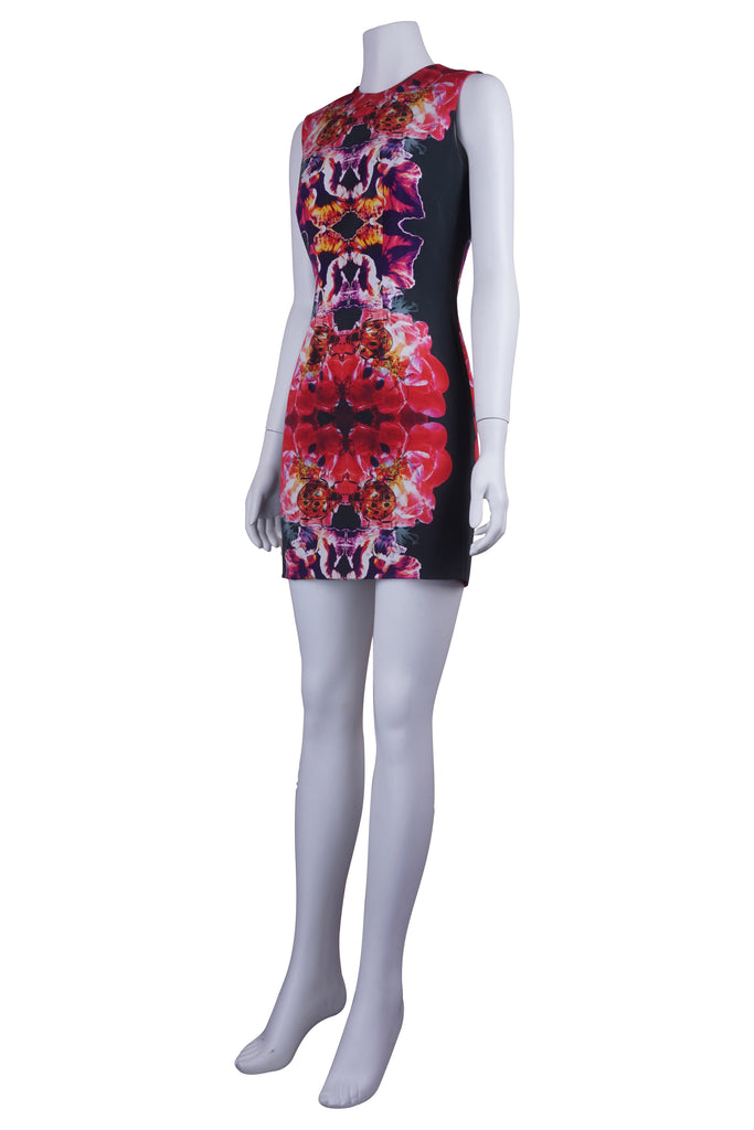 Michael Lo Sordo Ladybird panel print dress