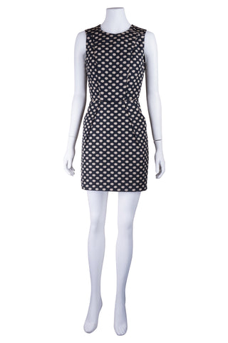 Intropia black spotted dress