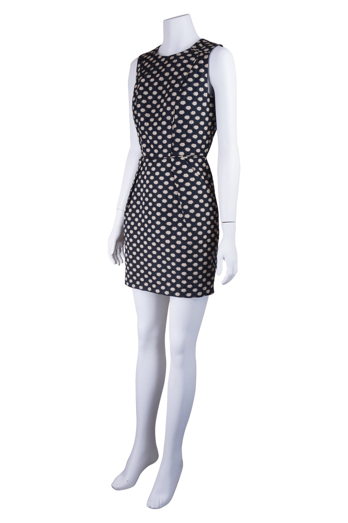 Hoss Intropia Black spotted dress