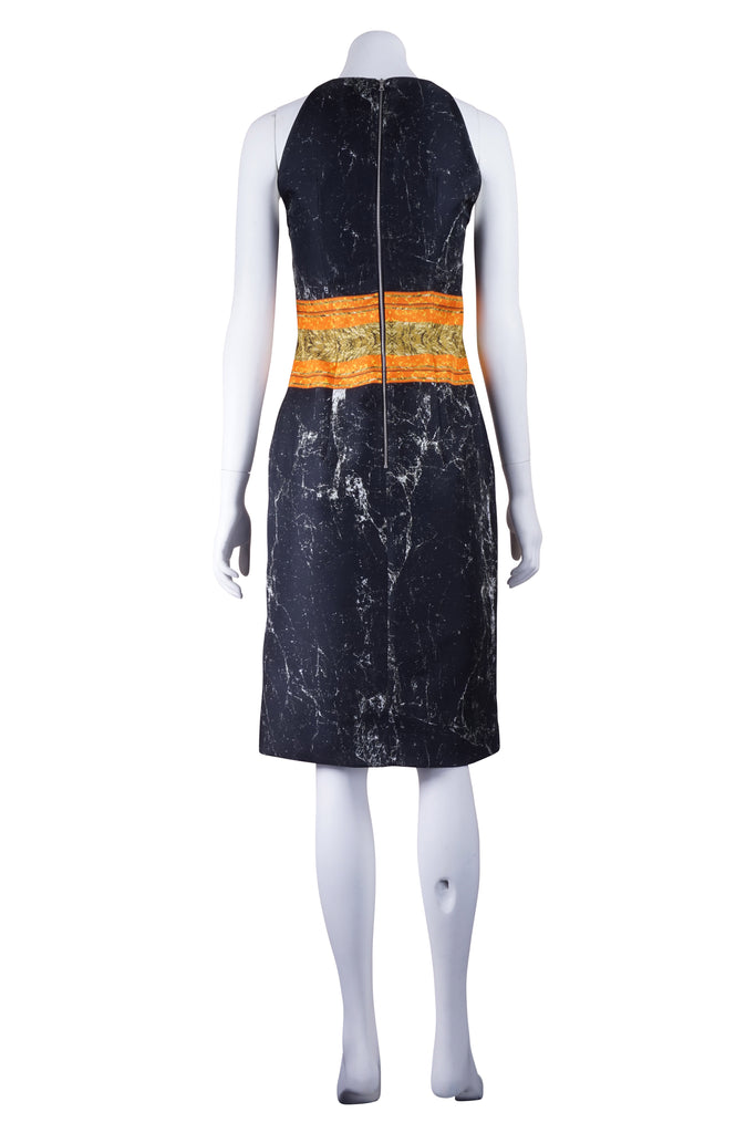 Josh Goot Marble Frame black dress