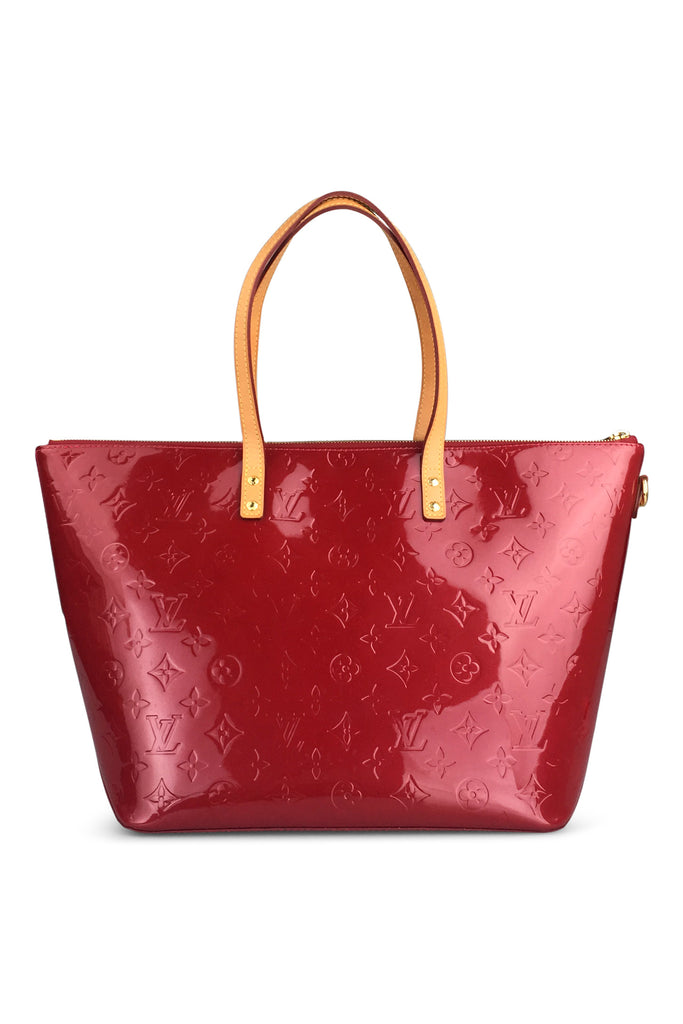 Louis Vuitton Red Vernis Reade