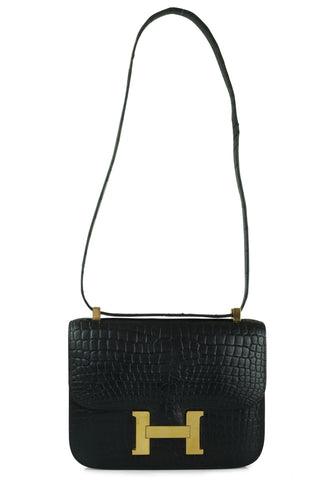 Constance mini crocodile shoulderbag