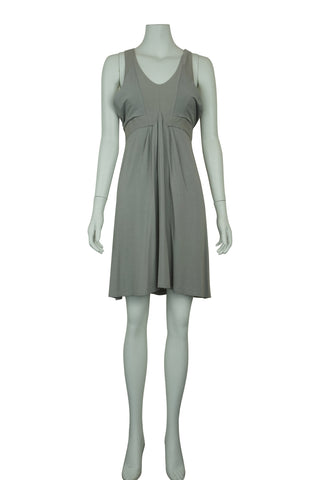 Sage sleeveless dress
