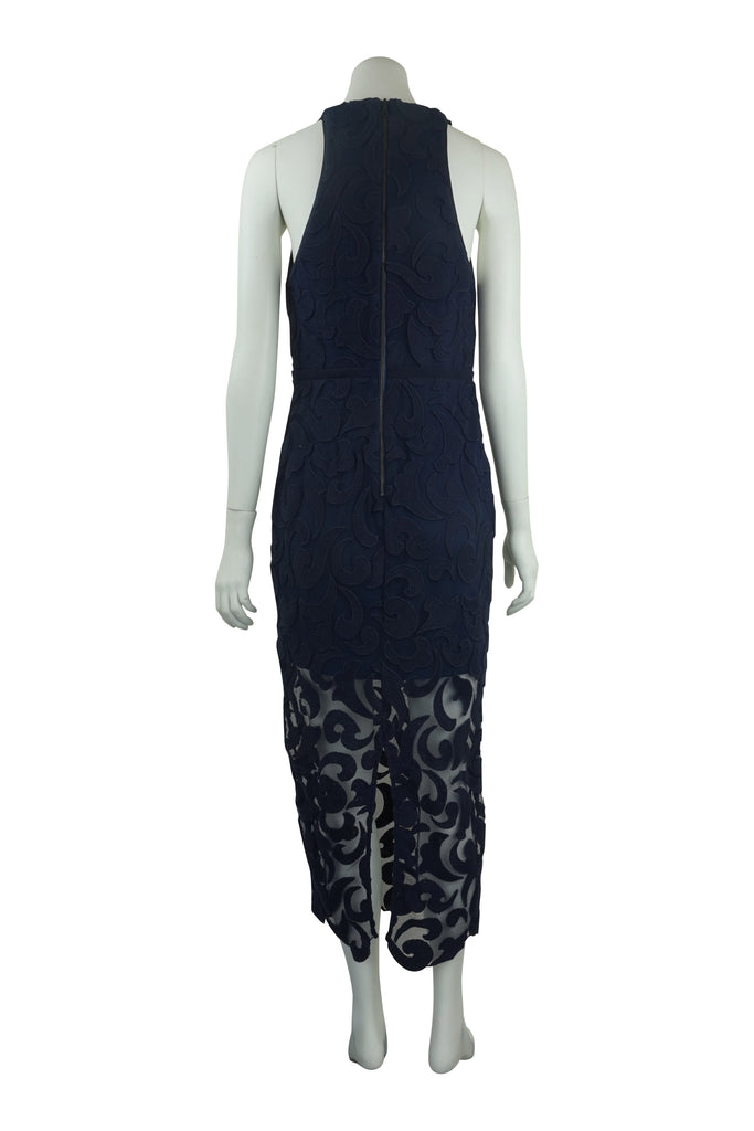 Manning Cartell Navy lace sheath dress