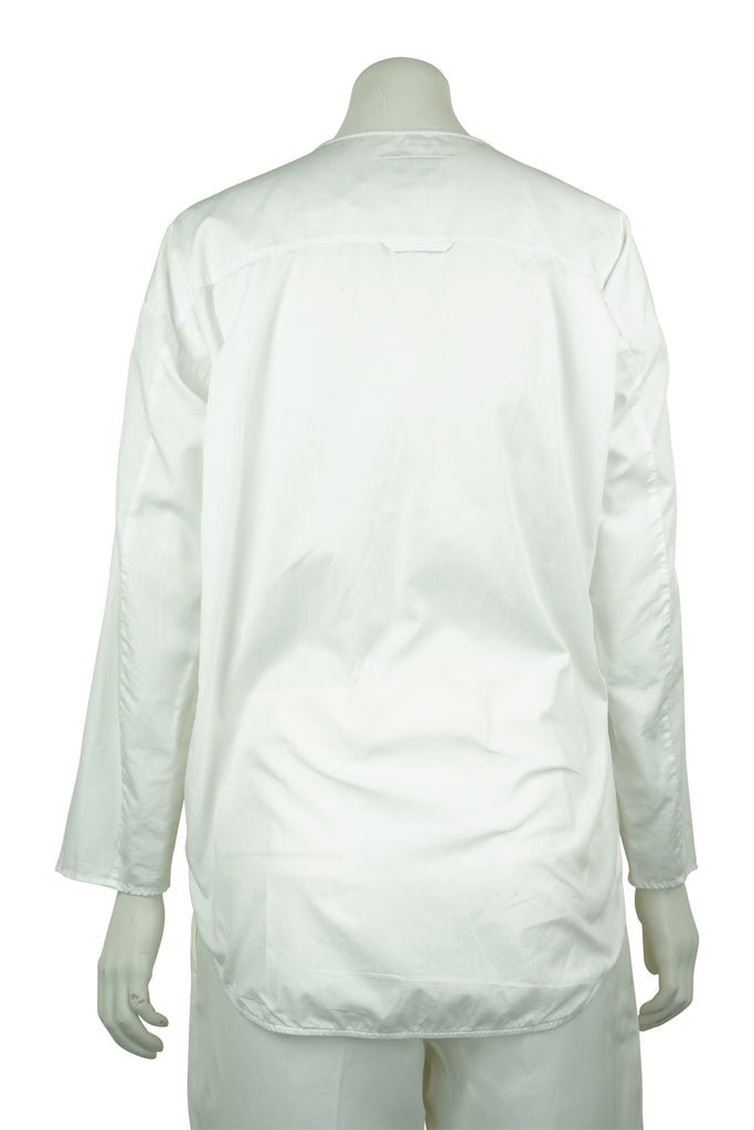 Maison Martin Margiela White cotton blouse