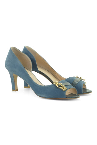 Giosava heels in blue