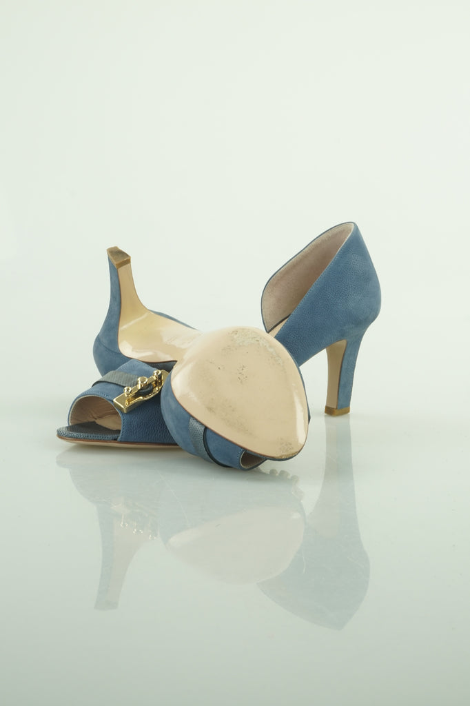 Bally Giosava heels in blue