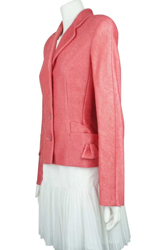 Christian Dior apricot jacket