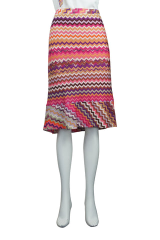 Tulip knit skirt