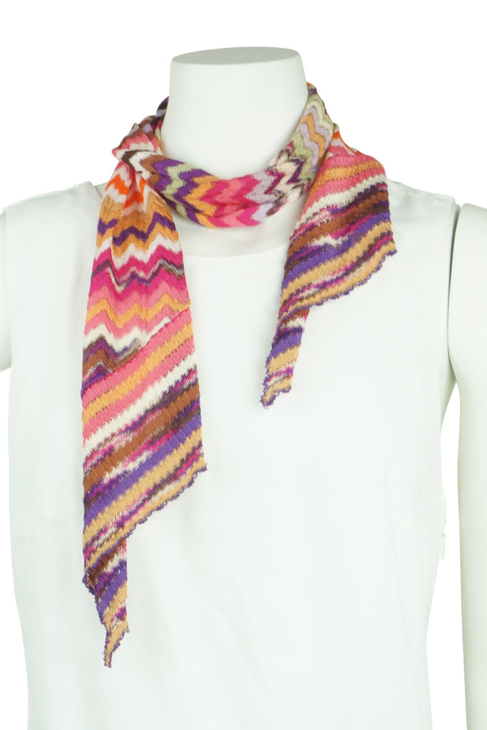 Missoni Knit jacket and scarf