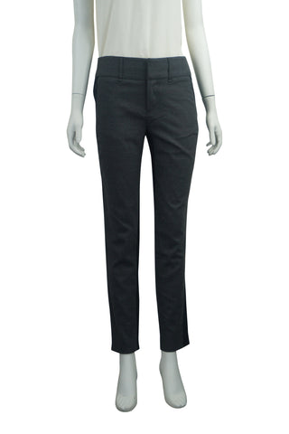 Stretch wool panel trousers