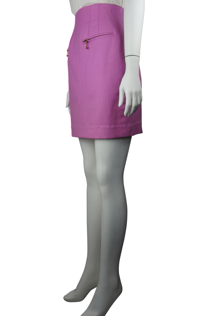 Escada Bubblegum woollen skirt