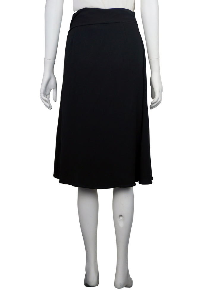 Max Mara Black buckle skirt