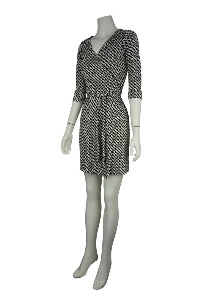 Diane von Furstenberg Link silk wrap dress