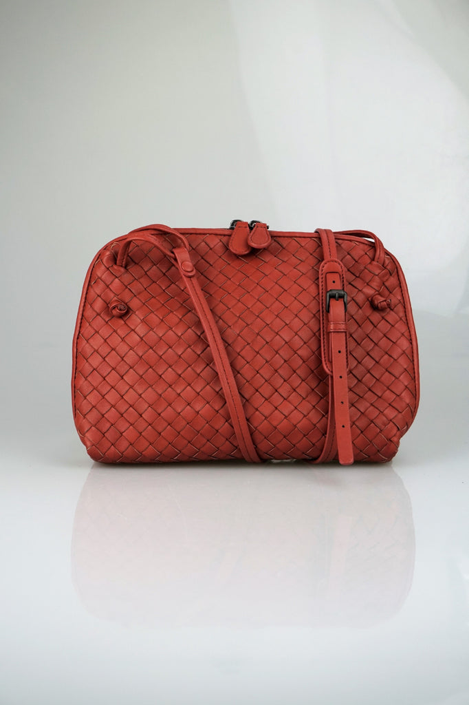 Bottega Veneta Small rose crossbody bag