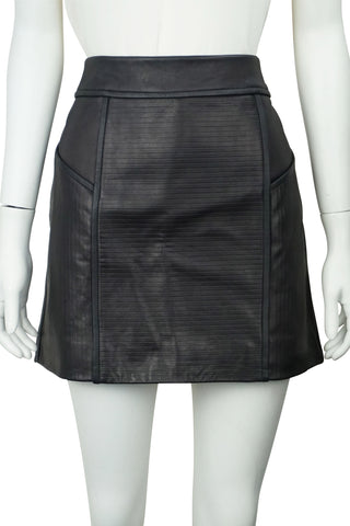 Of the night leather skirt