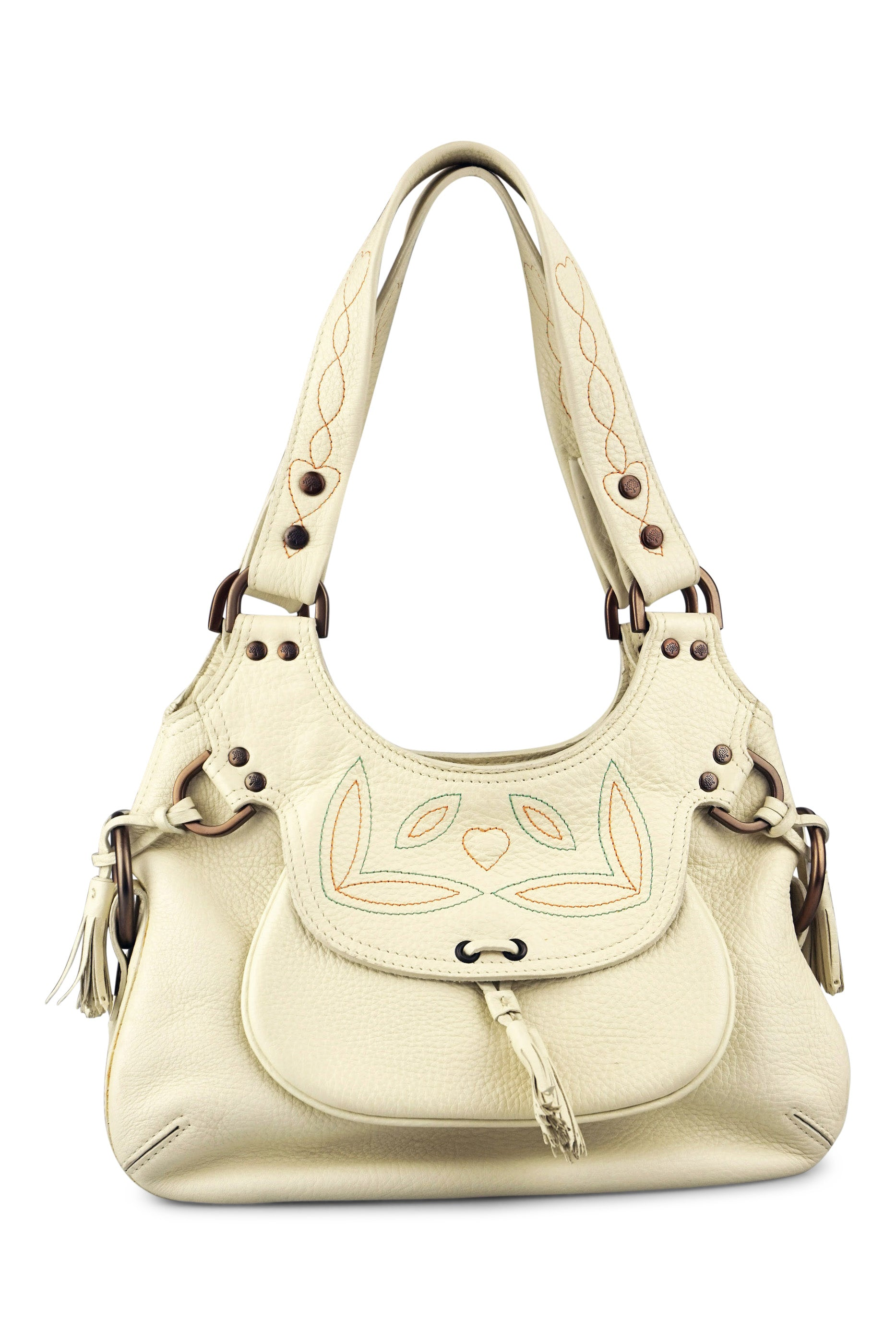 7e2a7ab300 Mulberry Phoebe cream tassel bag – Revoir