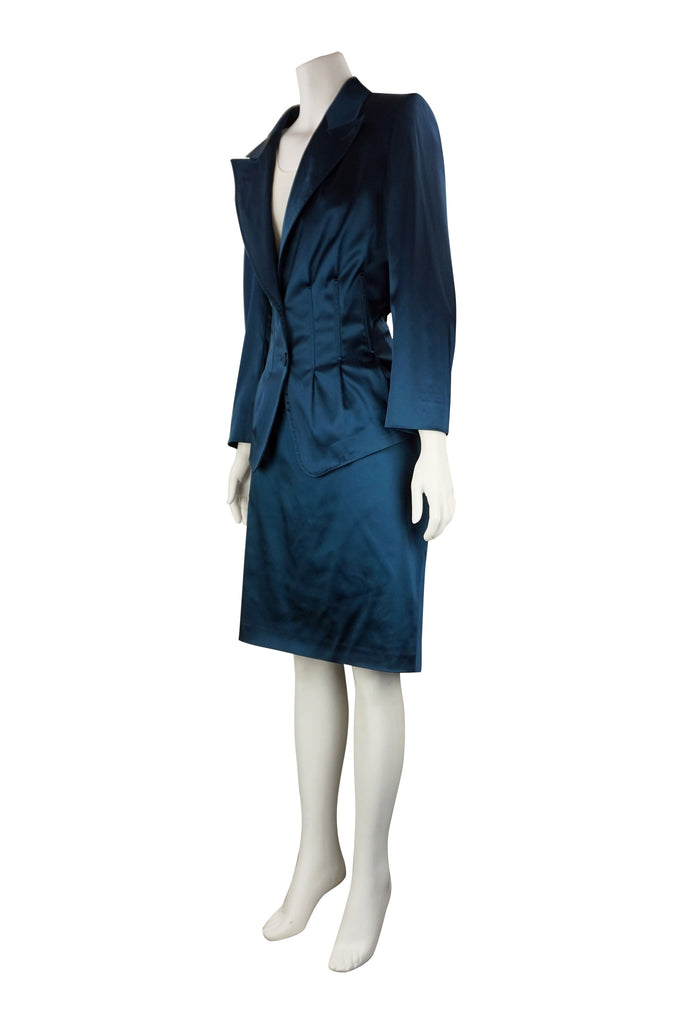 Escada Vivid blazer and skirt set