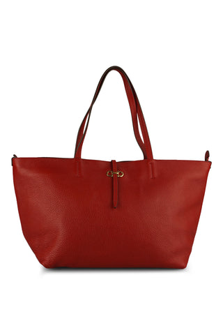 Bice tote bag in red