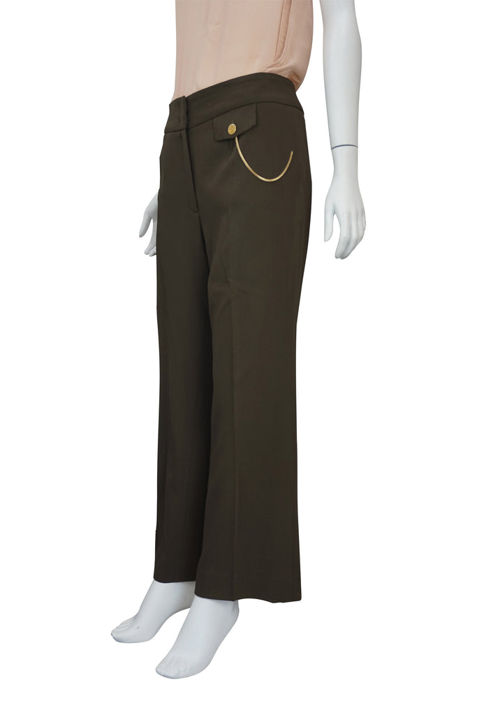 Escada Khaki green pants
