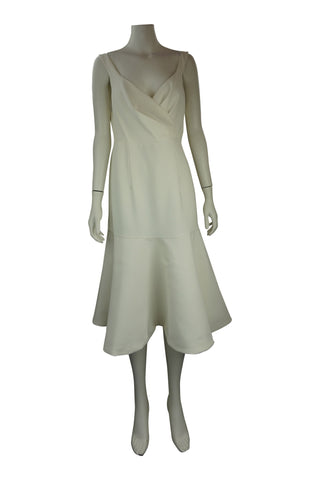 White strap cocktail dress