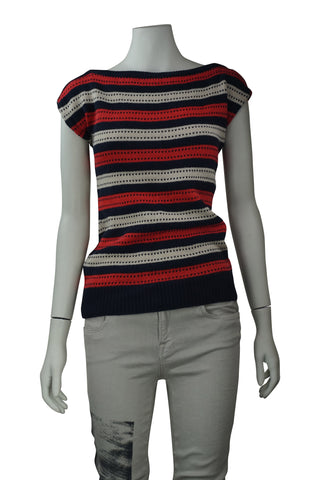 Marc by marc jacobs stripe knitted top