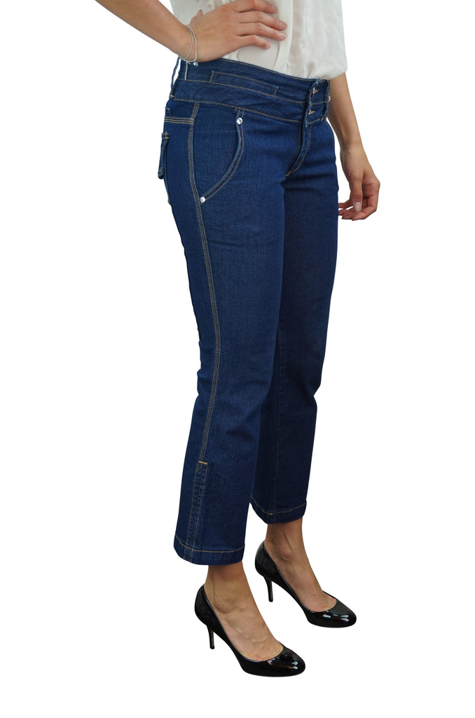 Bettina Liano Short Blue Jeans