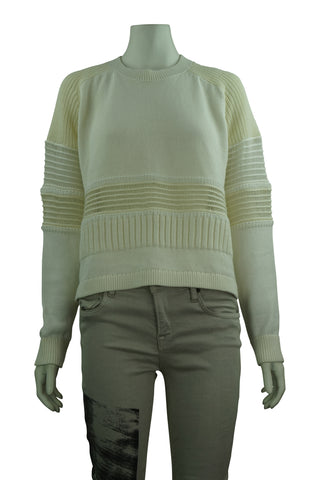 Short ivory jumper