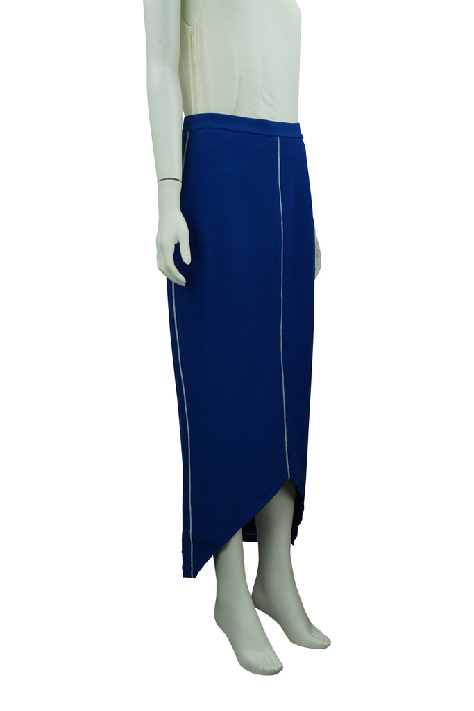 Sass & Bide Electric Blue Long Knit Skirt