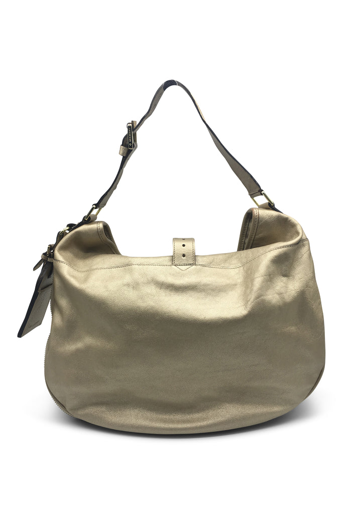 Mulberry Gold Hobo Bag