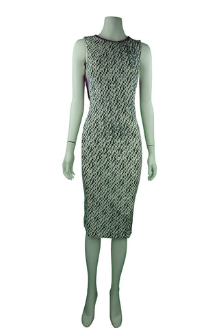 Cheekered pattern dress