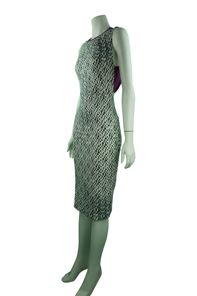 Manning Cartell Cheekered Pattern Dress