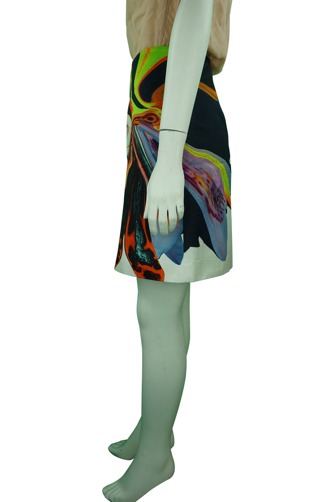 Josh Goot Multi-Colour Pattern Skirt
